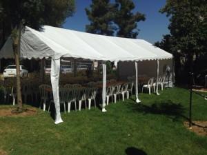 אוהל פתוח לאירועים מיוחדים